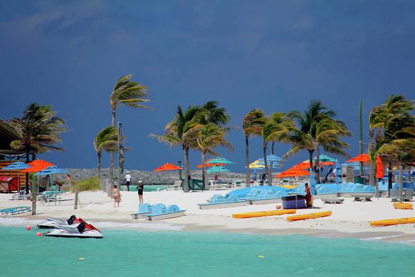 Paddle Boats Photograph - Caribbean, Bahamas, Castaway Cay by Kymri Wilt
