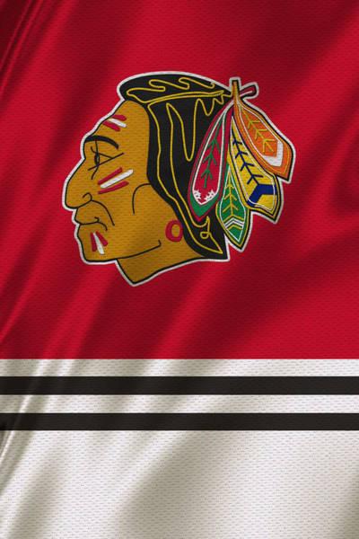 Wall Art - Photograph - Chicago Blackhawks Uniform by Joe Hamilton