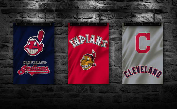 Outfield Wall Art - Photograph - Cleveland Indians by Joe Hamilton