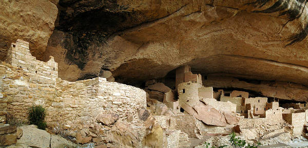 Wall Art - Photograph - Cliff Dwellings Of Mesa Verde by Kenneth Murray