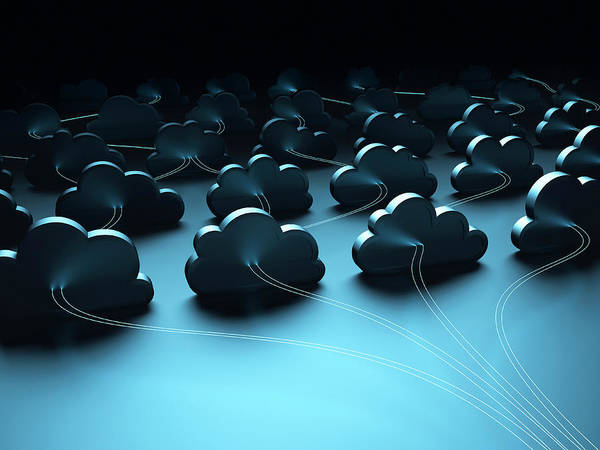 Wall Art - Photograph - Cloud Computing by Ktsdesign