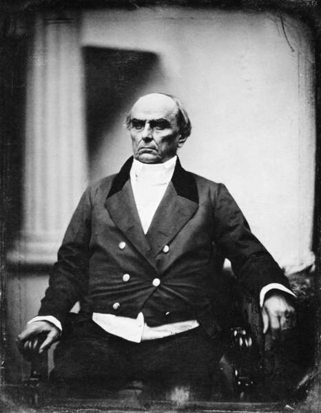 Photograph - Daniel Webster (1782-1852) by Granger