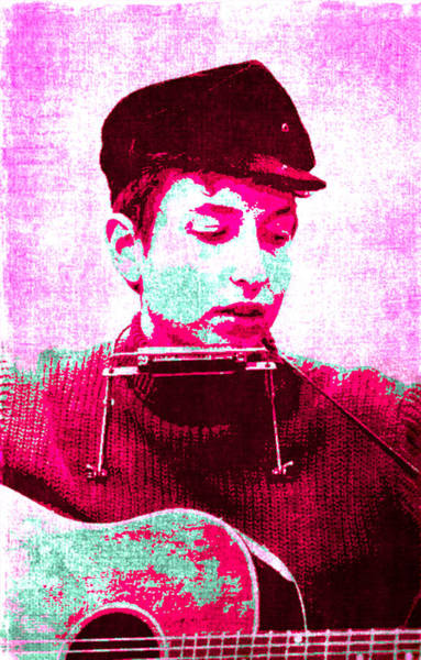 Bob Dylan Digital Art - Dylan by John Emery