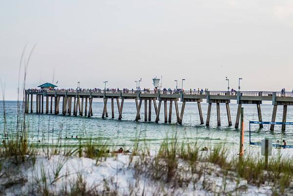Photograph - Florida Beach Scene by Alex Grichenko