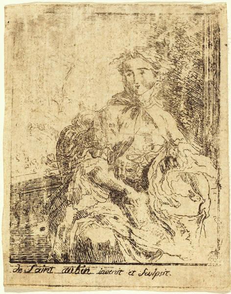 Wall Art - Drawing - Gabriel Jacques De Saint-aubin French, 1724 - 1780 by Quint Lox
