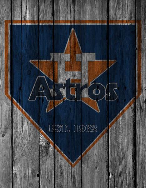 Astro Photograph - Houston Astros by Joe Hamilton