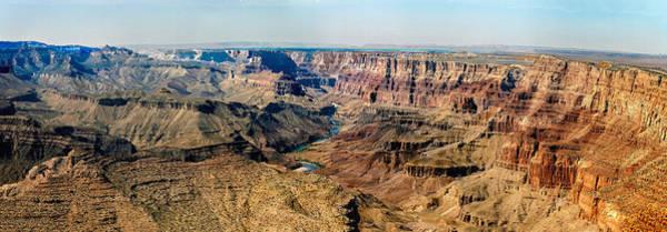 Photograph - 8-image Panorama Grand Canyon Desertview by Bob and Nadine Johnston