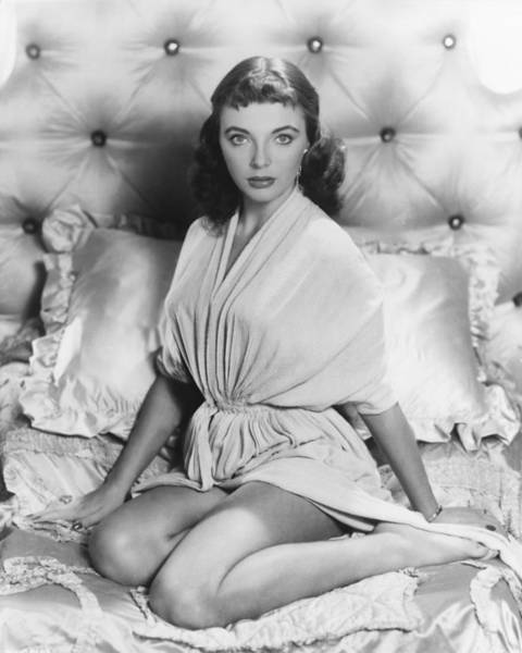 Glamorous Photograph - Joan Collins by Silver Screen