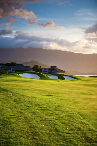 Golf Course Photograph - Kauai, Hawaii, Usa by Micah Wright