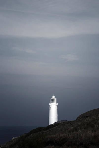 Gloomy Wall Art - Photograph - Lighthouse by Joana Kruse