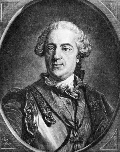 Painting - Louis Xv (1710-1774) by Granger