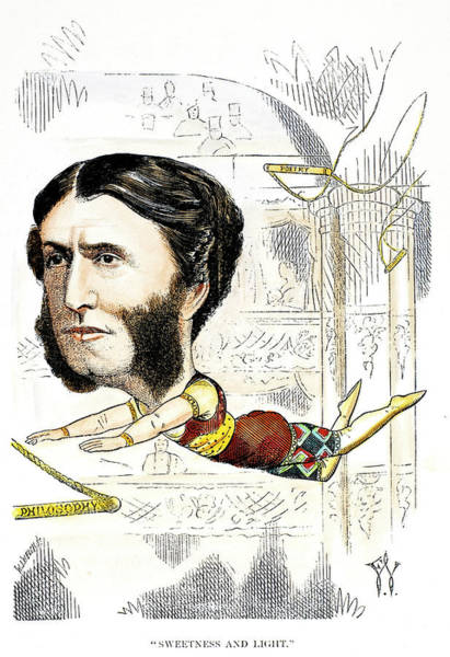 Trapeze Painting - Matthew Arnold (1822-1888) by Granger