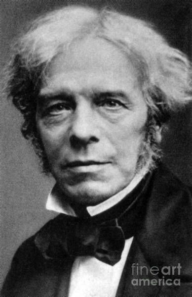 Diamagnetism Wall Art - Photograph - Michael Faraday, English Physicist by Science Source
