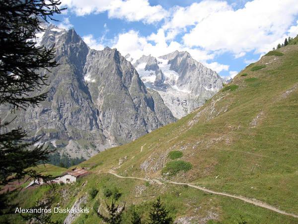 Photograph - Mont Blanc by Alexandros Daskalakis