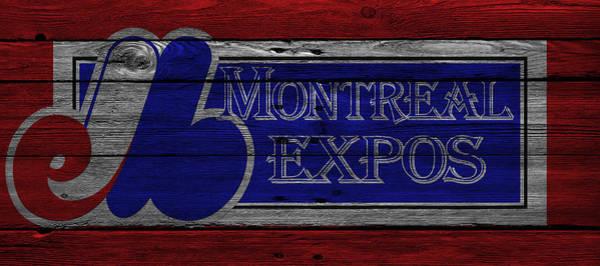 Montreal Photograph - Montreal Expos by Joe Hamilton