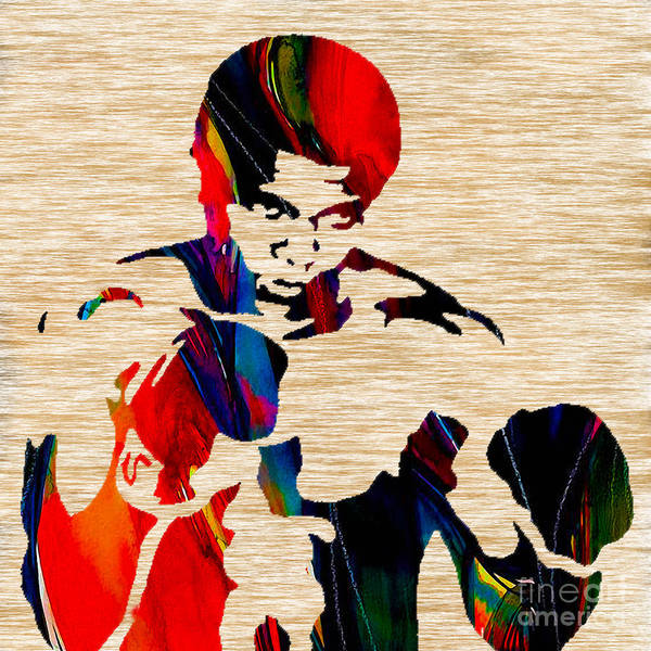 Boxing Mixed Media - Muhammed Ali by Marvin Blaine