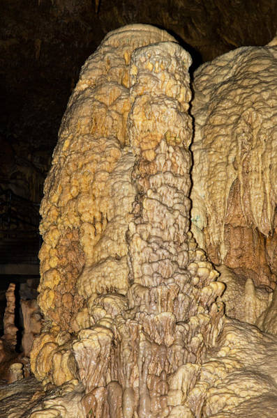 Speleology Photograph - Natural Bridge Caverns, San Antonio, Tx by Millard H. Sharp