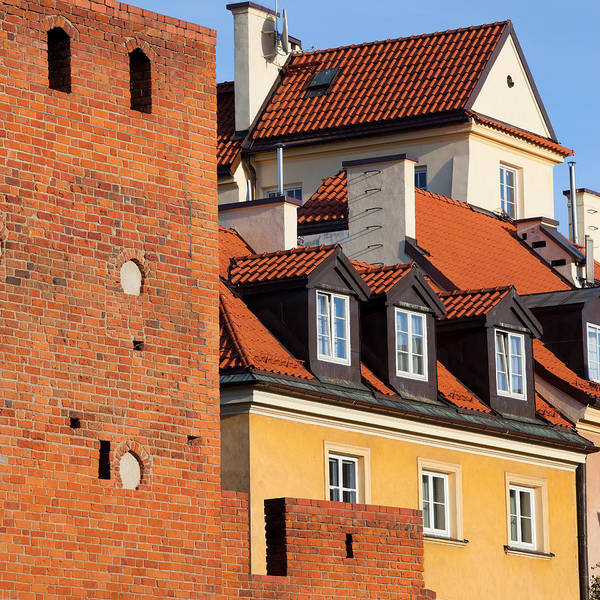Tenement Photograph - Old Town In Warsaw by Artur Bogacki