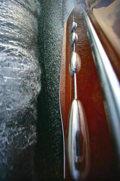 Photograph - Riva Wake by Steven Lapkin