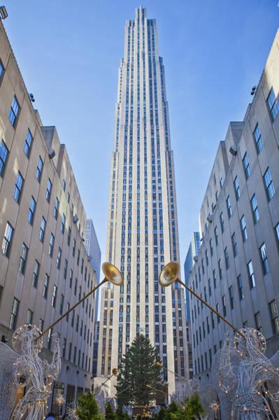 Photograph - Rockefeller Center by Theodore Jones