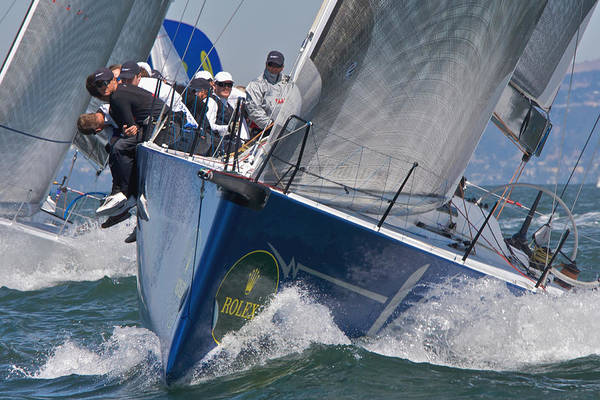 Photograph - Rolex Regatta by Steven Lapkin