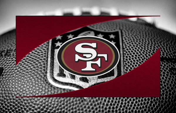 Offense Photograph - San Francisco 49ers by Joe Hamilton