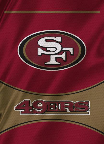 Offense Photograph - San Francisco 49ers Uniform by Joe Hamilton