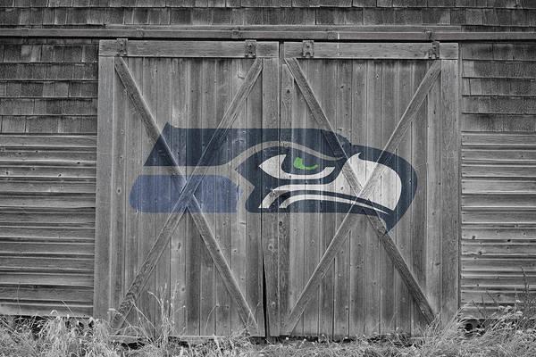 Wall Art - Photograph - Seattle Seahawks by Joe Hamilton