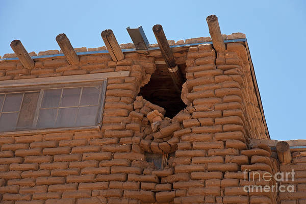 Photograph - Sky City Acoma Pueblo by Fred Stearns