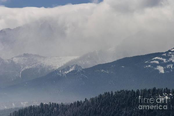 Photograph - Stormy Peak by Steve Krull