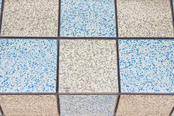 Colorized Photograph - Tiles by Tom Gowanlock