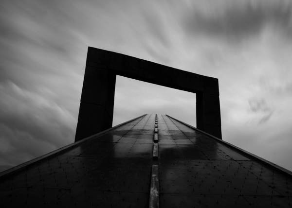 Vanishing Point Wall Art - Photograph - Untitled by Ali Ayer