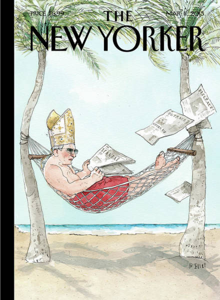 March 2013 Painting - New Yorker March 11th, 2013 by Barry Blitt