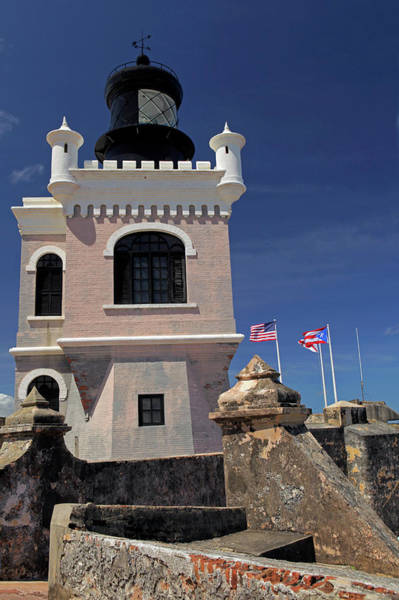 Castillo Wall Art - Photograph - Usa, Puerto Rico, San Juan by Kymri Wilt