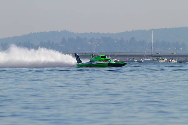Fair Photograph - Wa, Seattle, Seafair, Unlimited by Jamie and Judy Wild