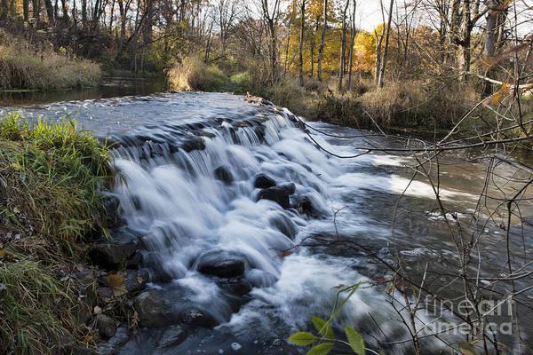 Bonneyville Mill Wall Art - Photograph - Waterfall by David Arment
