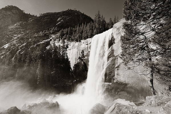 Photograph - Waterfalls by Songquan Deng