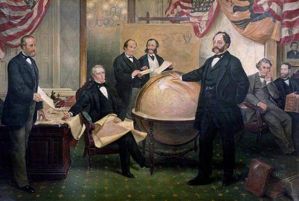 Wall Art - Painting - William Seward (1801-1872) by Granger