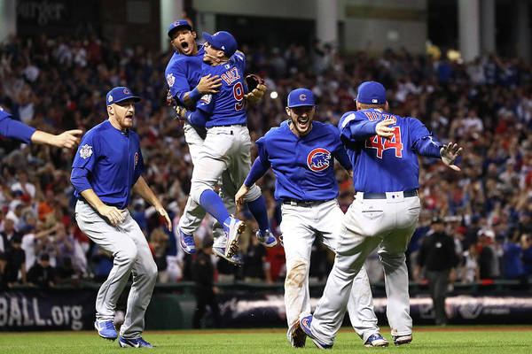 Chicago Photograph - World Series - Chicago Cubs V Cleveland by Ezra Shaw