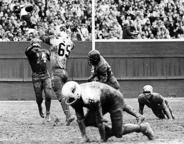 Baltimore Colts Photograph - Y.a. Tittle by Retro Images Archive