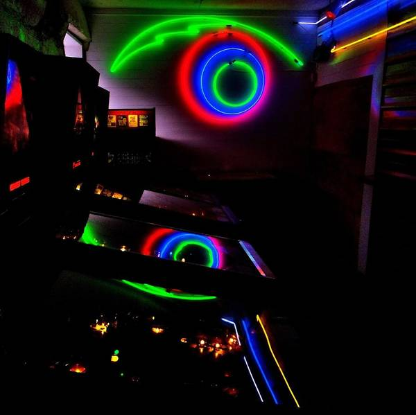 Blade Runner Photograph - 80s Arcade by Benjamin Yeager