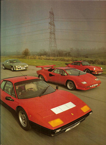 Aston Martin Photograph - 80s Sport Cars by Dope and urban Lifestyle