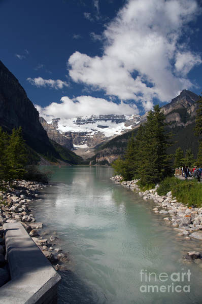 Photograph - 822p Lake Louise Canada by NightVisions