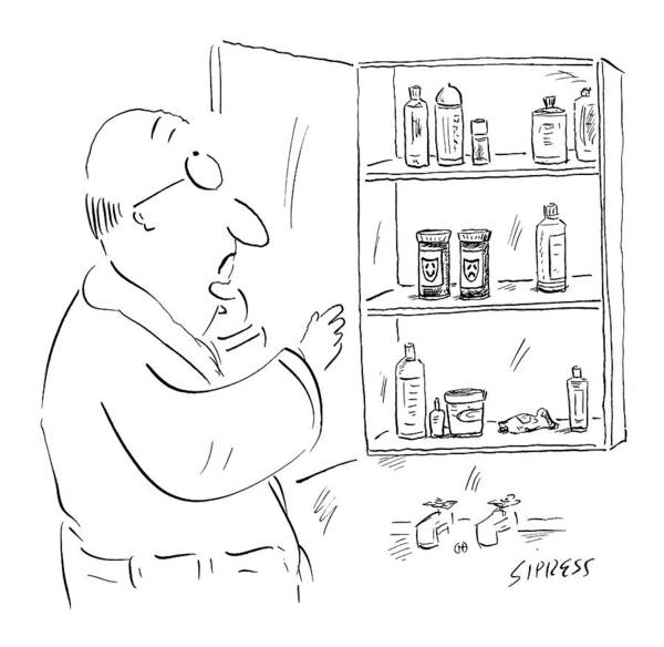 Medicine Drawing - New Yorker June 5th, 2006 by David Sipress