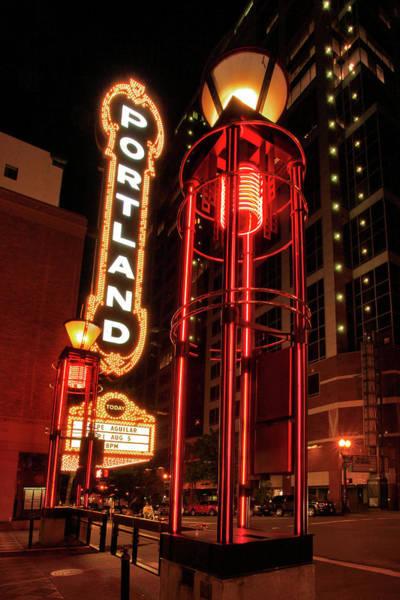 Concert Hall Photograph - Usa, Oregon, Portland by Jaynes Gallery