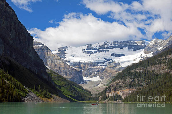 Photograph - 852p Lake Louise Canada by NightVisions