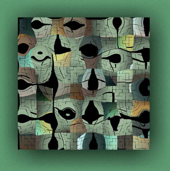 Wall Art - Digital Art - Contemporary by Mihaela Stancu
