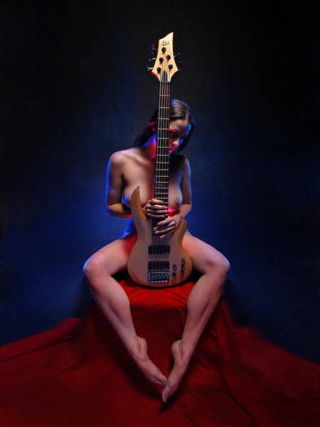 8861 Her Lovers Bass Art Print