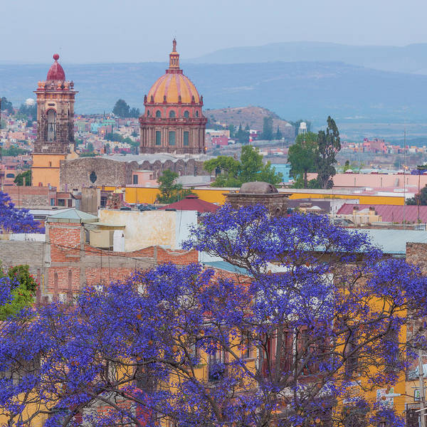Purple Haze Photograph - Mexico, San Miguel De Allende by Jaynes Gallery