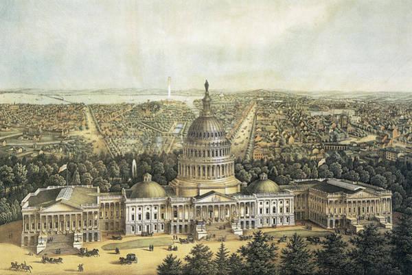 Wall Art - Painting - Washington, D by Granger